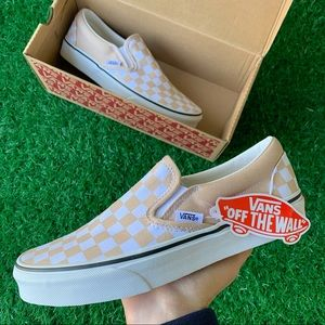 Vans Classic Slip On Checkerboard Frappe